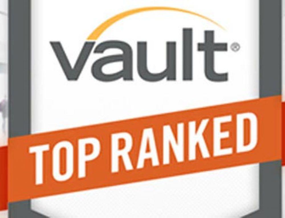 McKinsey tops Vault's 2014 ranking
