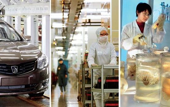 Three snapshots of Chinese innovation